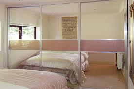 silver mirror metallic gold glass sliding doors