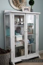 Storage for Extra Dishes {New Freestanding Glass Door Cabinet ...