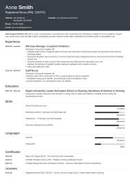 Rn Resume Samples Rn Resume Template Nursing Cv Word Pdf Uk Nurse Templates