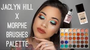 jaclyn hill brushes. jaclyn hill x morphe brushes palette makeup tutorial   makeupbyngoc u