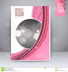 Book Cover Design Free Download Trendy Book Cover Template Design Stock Vector