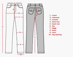 Pajama Jeans Size Chart Measuring Pants For Sale Funny Fashion Pants Trousers
