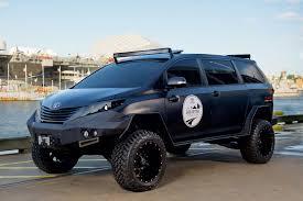 Toyota Sienna Ultimate Utility Vehicle (UUV) Concept - YouTube