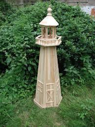 wooden lighthouse decoration china mainland garden lights