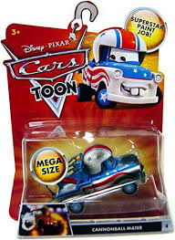 car toons mater. Modren Mater Disney Pixar Cars Toon Mater The Greater Cannonball Mega Size Vehicle In Car Toons N