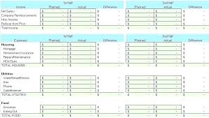 Monthly Income And Expenses Income Outcome Spreadsheet Template Monthly Income Expense