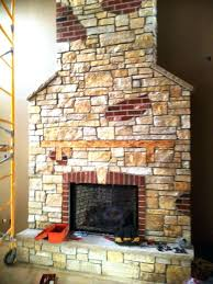 brick fireplace mantel pictures red remodel ideas for wood burning stoves
