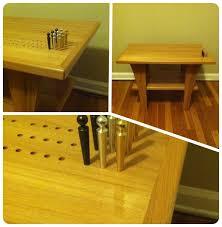 Custom Design Furniture Grand Rapids Hand Made Designer Cribbage Table By Leading Edge Custom