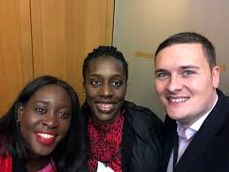 """Wes Streeting MP on Twitter: """"Bumping into these two brilliant women has  just turned my frown upside down. Welcome to Parliament @FloEshalomi and  @abenaopp. Hope lies in the future.… https://t.co/uR0la6SW89"""""""