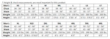 Supreme Pants Size Chart 69 Systematic Jet Pilot Wetsuits Size Chart
