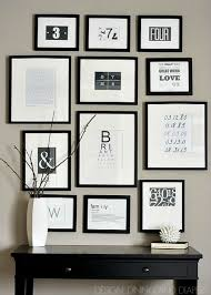ideas for picture frame displays