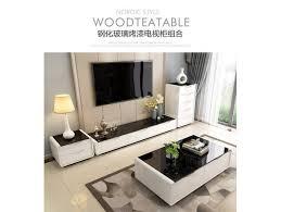 high quality gloss white coffee table