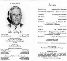 funeral pamphlet lds burial funeral planning