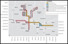 Phoenix Light Rail Map 2019 Phoenix Thumbs Up For Lrt Thumbs Down For Koch Railway Age