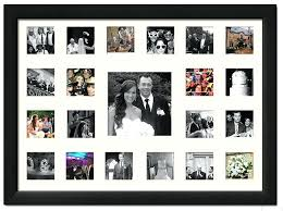 Collage Black Openings Throughout Family Photo Frames Decor 15