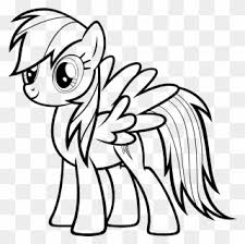 Select from 35429 printable crafts of cartoons, nature, animals, bible and many more. Rainbow Dash Coloring Pages My Little Pony Drawing Rainbow Dash Clipart 160737 Pinclipart
