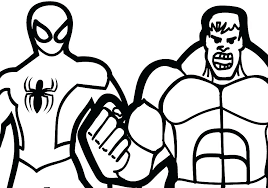 hulk coloring pages printable red free for kids smash colouring pa