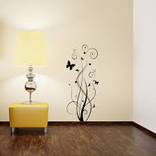 Small Picture Floral Butterfly Wall Sticker Removable Wall Stickers and Wall