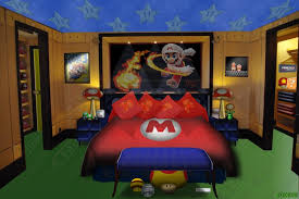 Super Mario Bedroom Most Amazing Super Mario Brothers Bedroom Ever Youtube Within