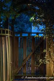 outdoor lighting effects. Downlight The Path Under An Arbor | 8 Landscape Lighting Effects And How To Use Them Outdoor R