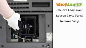 Lamp Replacement Samsung Bp96 00608a Lamp Replacement Guide For Dlp Tv Repair Youtube