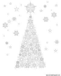 Snowflake Coloring Pages Christmas Snowflake Coloring