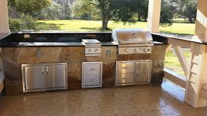 Backyard Kitchen Backyard Kitchens Of Houston Build Outdoor Kitchen Grilling