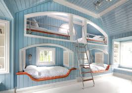 teen bedroom ideas. Astonishing Design Of The Blue Wooden Wall Added With White Floor And Bed As Teen Bedroom Ideas