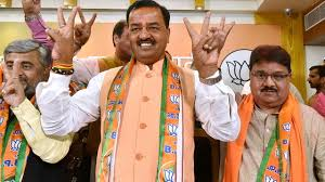 vish prasad keshav prasad maurya health update up bjp chief doing better was