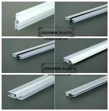 shower door sweep t type shower door bottom seal shower glass door seal strip invaluable shower