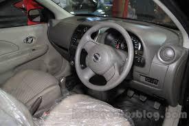Nissan Micra interior at the 2015 NADA Show - Indian Autos blog