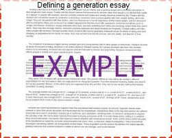 defining a generation essay coursework help defining a generation essay
