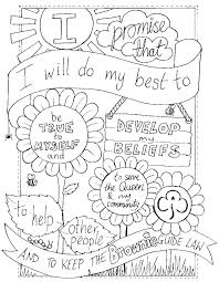 daisy petal coloring pages azovmash 2167769 girl scout