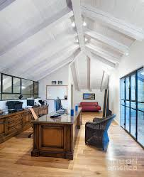attic home office. Architectural Detail Photograph - Home Office In An Attic By Noam Armonn 4
