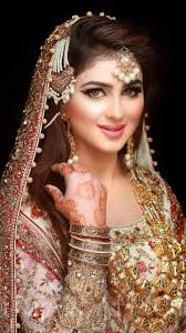 cuts s with puff makeup princess look you stani bridal hairstyle 2017 for round faces