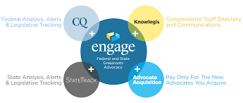 engage advocacy software membership tool cq roll call when you partner cq roll call for advocacy you benefit from a single team of experts focused on you rather than having to divide your attention