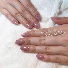 ピンク ネイル シンプル
