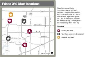 new wal mart supercenter expected to open in community frisco wal mart locations