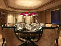 luxury round dining table set idea
