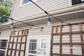 gallery of hanging outdoor lights patio how to decorate your with in for idea acceptable string on awesome 9