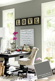 home office paint color. Ballard Designs January-February 2015 Paint Colors Benjamin Moore Amherst Gray · How To DecorateHome Office Home Color