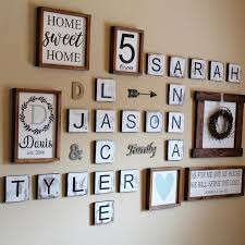 Large Scrabble Tiles Decorative