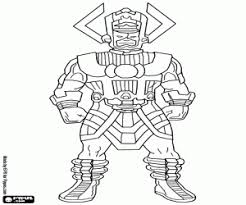 Supervillains Coloring Pages Printable Games