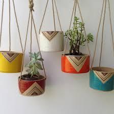 Hanging Planters Painted Ceramic Planter Google Search Plants Diy Planters