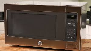 reheating with the ge profile series countertop microwave oven autoplay