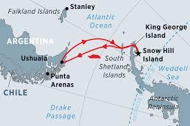 emperor penguin habitat map. Fine Map Map Of Antarctic Expedition Weddell Sea U0026 Emperor Penguins Including  Antarctica And Argentina In Penguin Habitat
