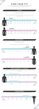 Find Your Size Size Chart Ciovita Sa
