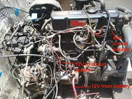 install electronic ignition kit in a mercruiser 120 engine