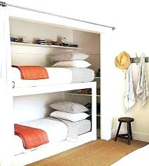 Bed in closet Alcove Loft Bed With Closet Bed In Closet Bed In Closet Cozy Country Ranch Renovation Loft Bed With Closet Sucompraonlineco Loft Bed With Closet Closet Bedroom Best Bed In Ideas On Loft Bed
