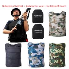 <b>Fast Bulletproof Helmet</b>+<b>vest</b>+<b>board</b> Police Self defense Body Armor ...